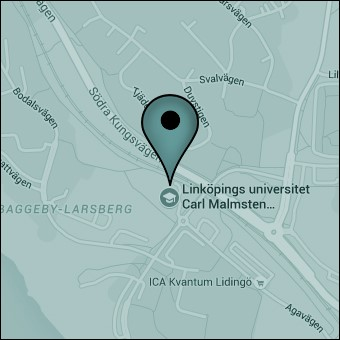 Map of Campus Lidingö