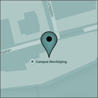 Map of Campus Norrköping